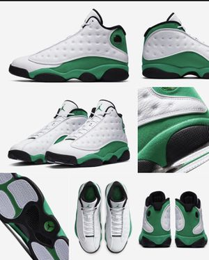 "BRAND NEW JORDAN 13 ""LUCKY GREEN"" FOR SALE!!! GS SIZES 6.5 & 7 $190 MEN's SIZES 9.5 & 11 $280 for Sale in Fayetteville, NC"