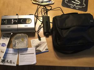 CPAP MACHINE-with supplies and case for Sale in Brick Township, NJ