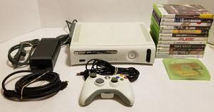 Xbox 360 Original with controller and 13 Games for Sale in St. Petersburg, FL