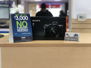 Sony a7iii Digital Mirrorless Camera! (No Credit Needed!!) as low as 39$ down today! for Sale in South Gate, CA
