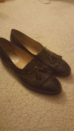 e14ee28d9410 11 1 2 Salvatore Ferragamo Mens Black Leather for Sale in Canton