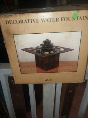 #BEAUTIFUL#DECORATIVE TABLETOP FOUNTAIN # for Sale in San Antonio, TX