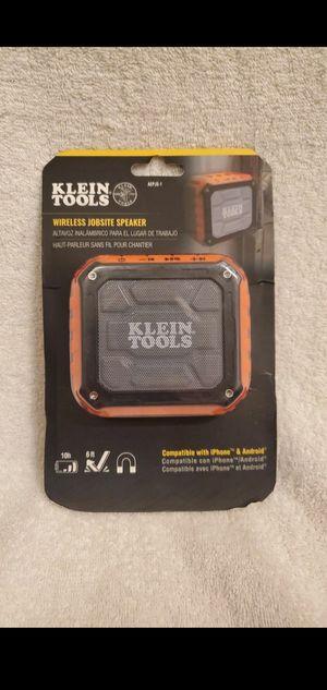 Klein Tools Bluetooth Speaker for Sale in Placentia, CA