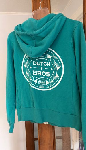 Dutch bros jacket hoodie size large for Sale in Beaverton, OR