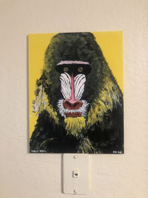 Baboon painting for Sale in Oakland, CA