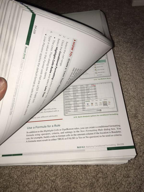 Microsoft Office 2016 Textbook