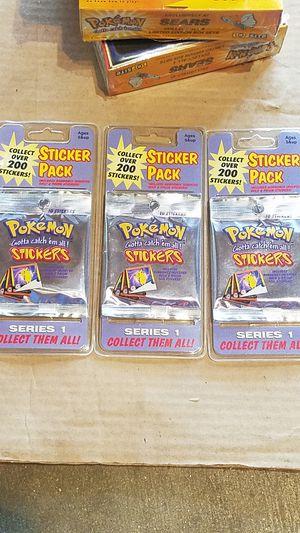 Pokemon stickers for Sale in Selma, CA