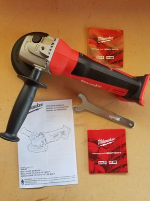 M18 Milwaukee Grinder TOOL ONLY BRAND NEW for Sale in Bakersfield, CA