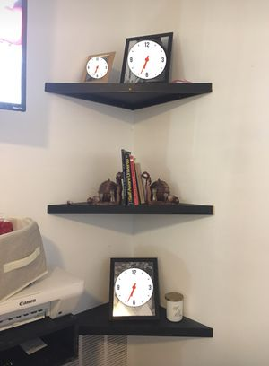 Black floating shelves for Sale in Dallas, TX