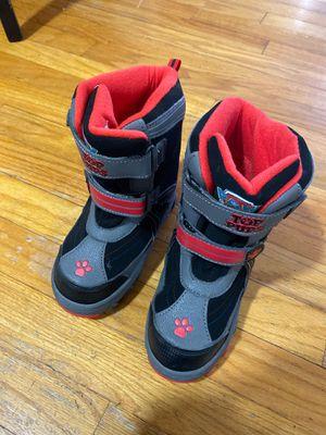 Pas patrol snow boots kids for Sale in Park Ridge, IL