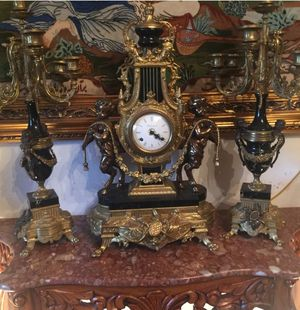 Antique Italian. Lock and candelabra in excellent condition for Sale in Laguna Hills, CA