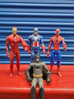 Superhero action figures for Sale in Buena Park, CA