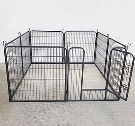 """(NEW) $90 Heavy Duty 32"""" Tall x 32"""" Wide x 8-Panel Pet Playpen Dog Crate Kennel Exercise Cage Fence for Sale in El Monte,  CA"""