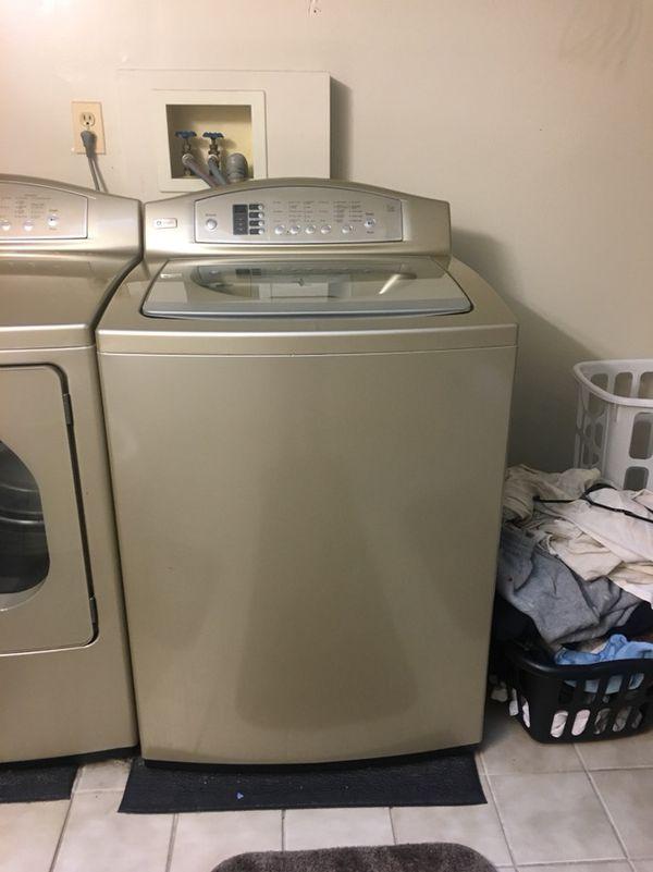 Profile Washing Machine and Dryer
