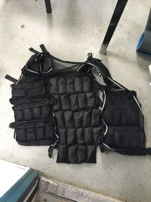 40lb adjustable weighted vest adult size for Sale in Renton, WA