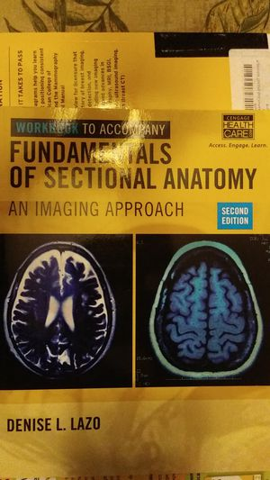 Fundamentals of Sectional Anatomy workbook, 2nd ed. for Sale in HILLTOP MALL, CA