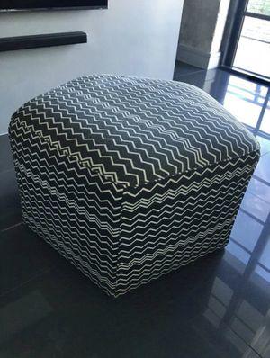 Missoni ottoman / chair for Sale in Miami, FL