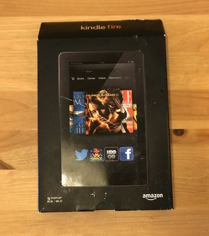"Kindle Fire - 7"" Display 