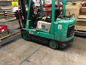Mitsubishi 25 series propane forklift 5000lbs cap. for Sale in Hayward, CA
