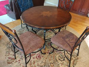 Dining Breakfast Table and 4 Chairs for Sale in Ontarioville, IL