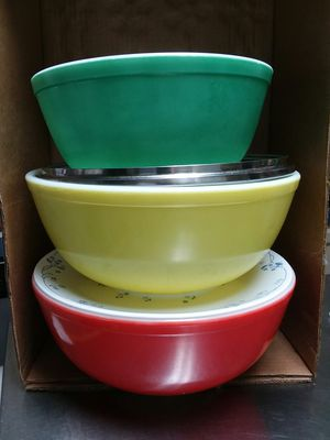PYREX MIXING BOWLS for Sale in Stanley, NC