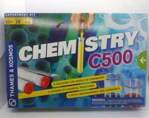 Thames & Kosmos Chemistry C500 Experiment Kit (NEW) for Sale in Webster, TX