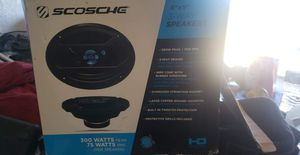 Scosche 3 way 6x9 speakers for Sale in Lehigh Acres, FL