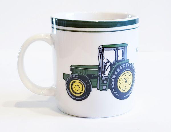 Collectible John Deere Tractor Coffee Mug Farming