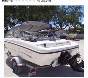READ!!!Bimini for sale not the boat. (Bimini is the canopy on top of boat for Shade for Sale in Jurupa Valley, CA