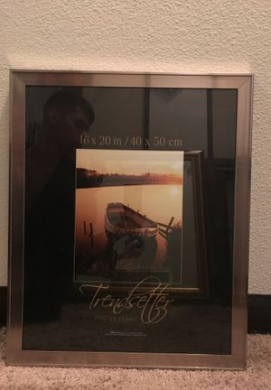 Silver Picture Frame for Sale in San Antonio, TX