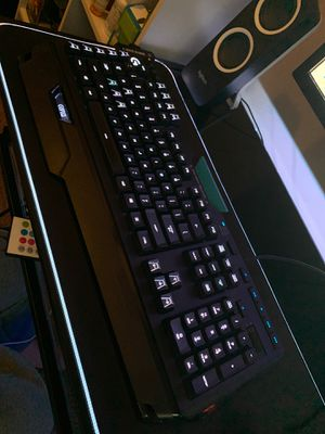 Logitech G910 Orion Spark RGB Mechanical Gaming Keyboard for Sale in Iowa City, IA