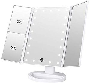 Bestope Lighted LED Makeup Mirror for Sale in Overbrook, WV