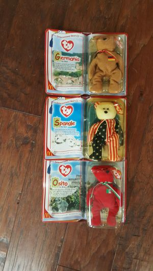 McDonald's Ty Beanie Babies, International Bear collection 2 for Sale in Santa Ana, CA