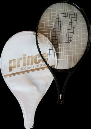 Vintage Prince Accuracy Oversized Tennis Racket with case and balls for Sale in Lancaster, PA