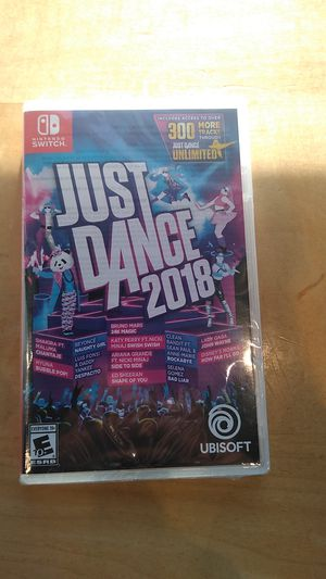 Just dance 2018 for Nintendo switch for Sale in Redlands, CA