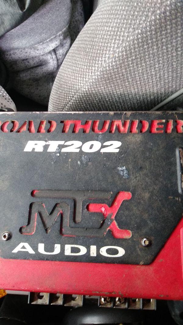 Mtx road thunder car amp