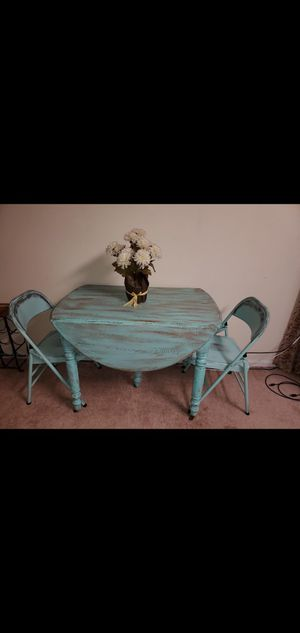 Distressed kitchen table and chairs for Sale in Virginia Beach, VA