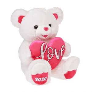 Valentine's Day White and Pink Sweetheart Teddy Bear Gift Present For Your Special Someone for Sale in Henderson, NV