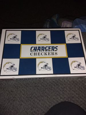 Chargers checkers board game for Sale in Wichita, KS