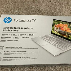 HP 15 Laptop PC Intel Core i3 Brand New in Box for Sale in Irving, TX