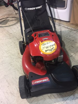 TroyBilt self propelled lawn mower. Fully serviced. Starts on 1st pull. for Sale in Lutz, FL