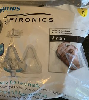 Phillips Respironics Amara Full-Face Mask for Sale in El Paso, TX