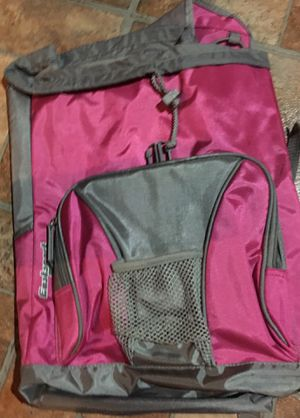 Eastsport Pink/Silver Gray Bookbag/Backpack for Sale in Ellenwood, GA