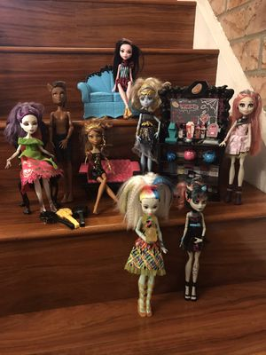 Monster High Dolls and Accessories for Sale in Fremont, CA