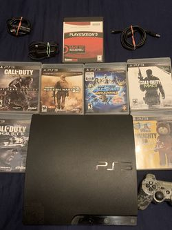 PS3 With Controller And 2 Chargers for Sale in Fort Myers,  FL