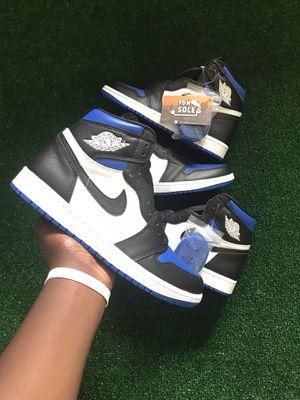 Jordan 1 Royal toe, size 7 for Sale in Culver City, CA