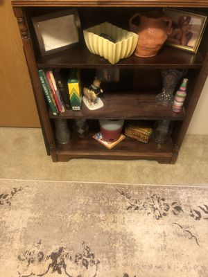 3 shelves 1 extra bookshelf for Sale in Orefield, PA