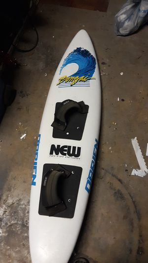 3 fin surfboard obrien make me an offer I'm willing for trades also for Sale in San Antonio, TX