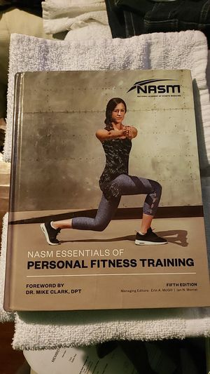 NASM Text Book for Sale in Bakersfield, CA