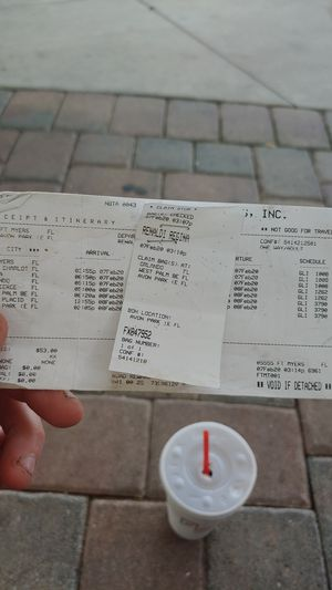 Bus ticket to Orlando Tampa or West Palm Beach for Sale in North Fort Myers, FL